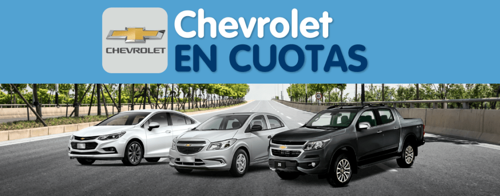Chevrolet en Cuotas 2020